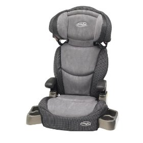evenflo big kid booster car seat