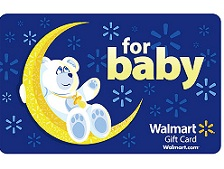 Walmart Gift Card for Baby
